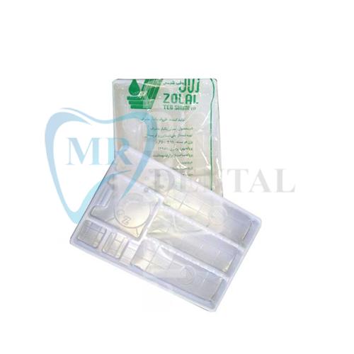 سینی یکبار مصرف دندانپزشکی زلال