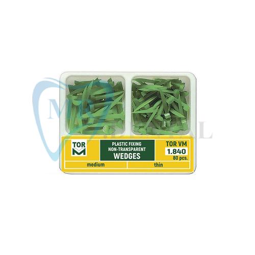 وج پلاستیکی مروابن 80 عددی سبز